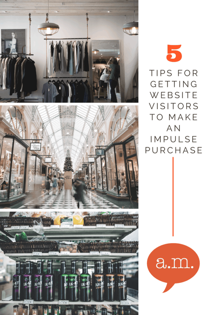 5 easy ways to get an impulse purchase from your blog visitors.