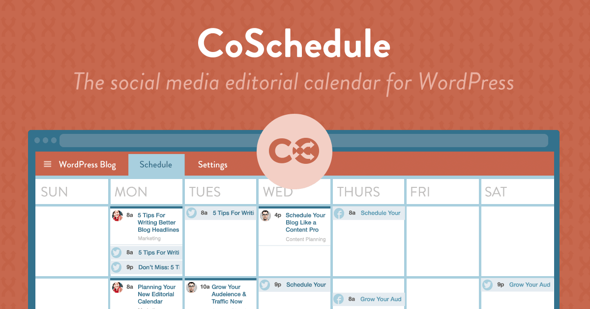 CoSchedule for managing your Editorial Calendar | Abask Marketing