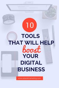 10 tools to boost your digital business | Abask Marketing