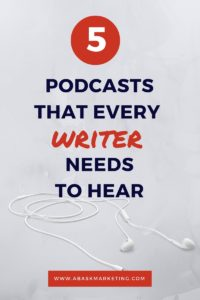 5 Best Podcasts for writers