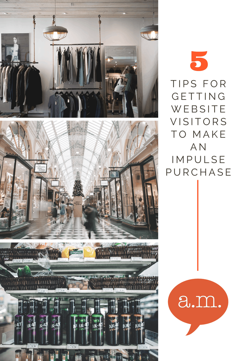 How to get an impulse buy from your website visitors