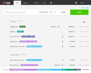 Toggl for timekeeping | Abask Marketing