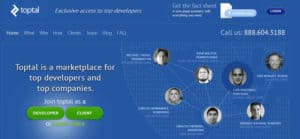 Toptal for hiring talent | Abask Marketing