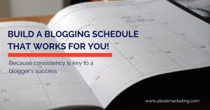The easiest way to make a blog schedule | Abask Marketing