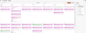 Ideas on CoSchedule