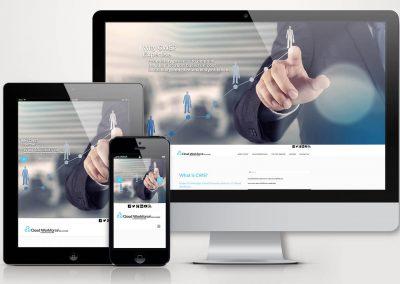 Cloud Workforce Solutions Website