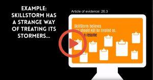 SkillStorm presentation animation content marketing
