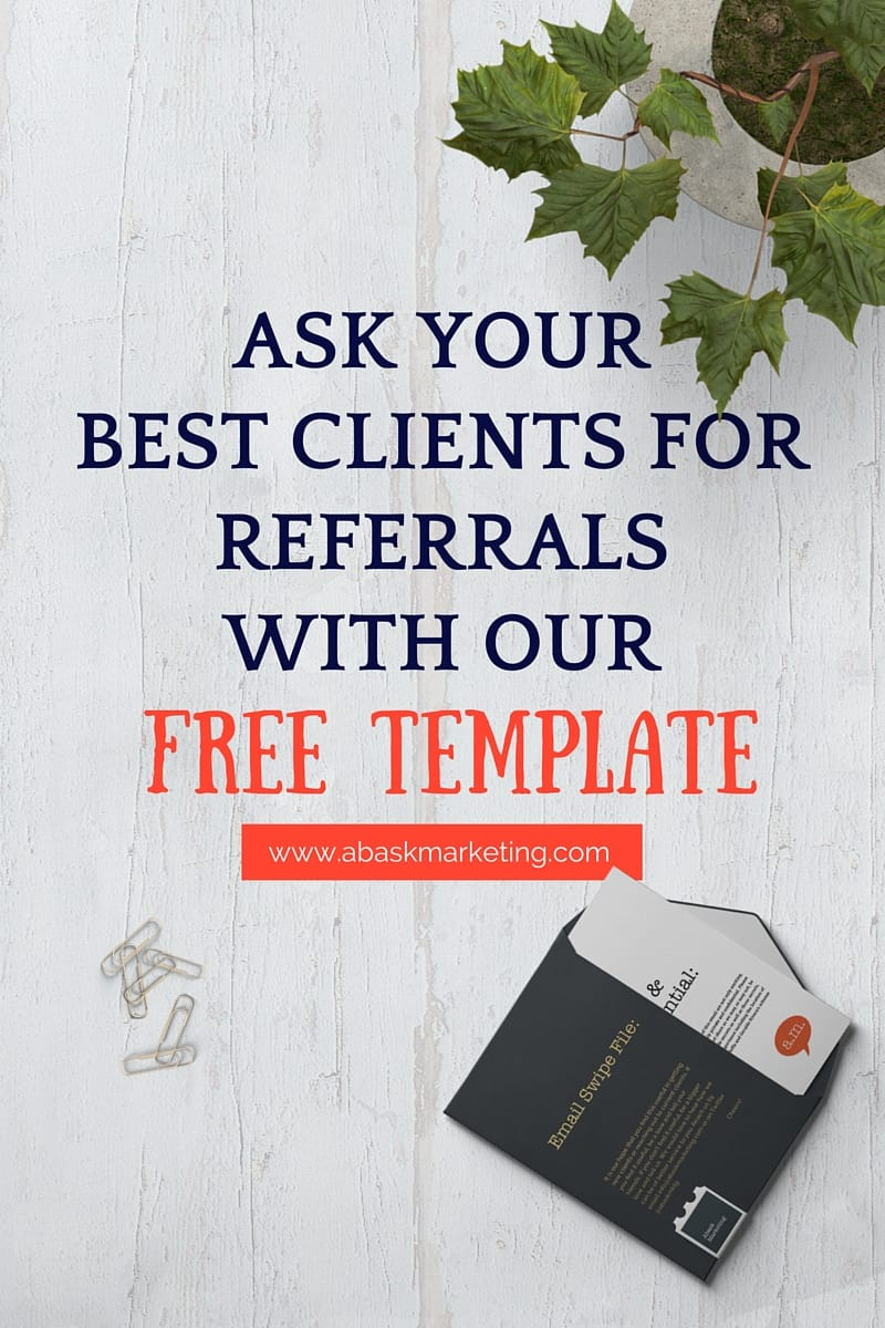 Email template for referrals