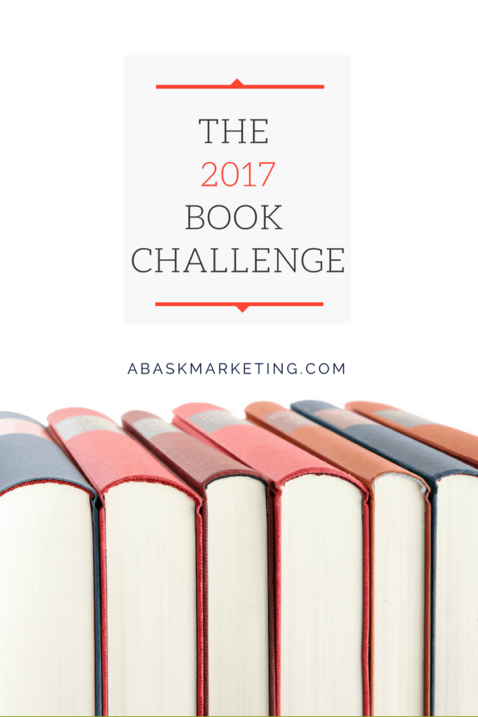 The Copywriter's Book Challenge (read to be a better writer in 2017)