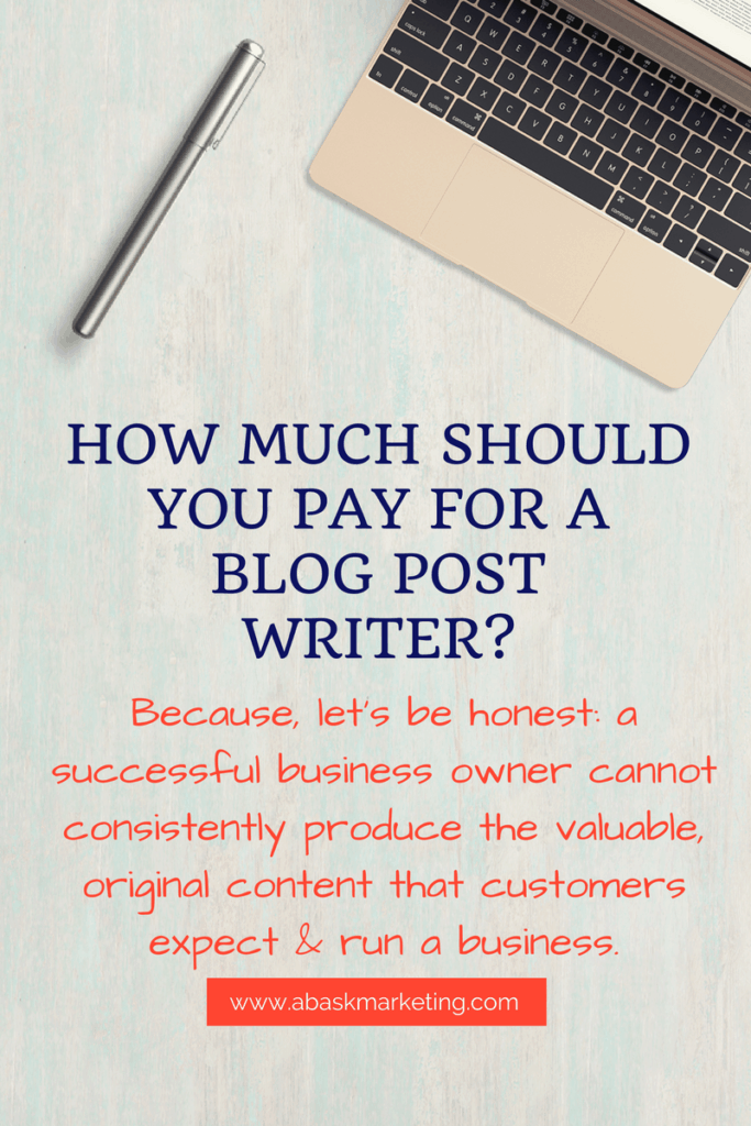 How much will a competitive professional blogger actually charge?