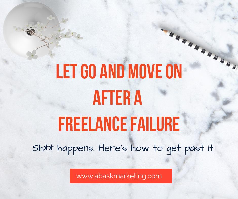 How to handle a freelance failure