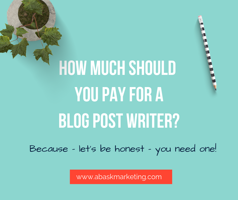 How much does a competitive professional blogger actually charge?