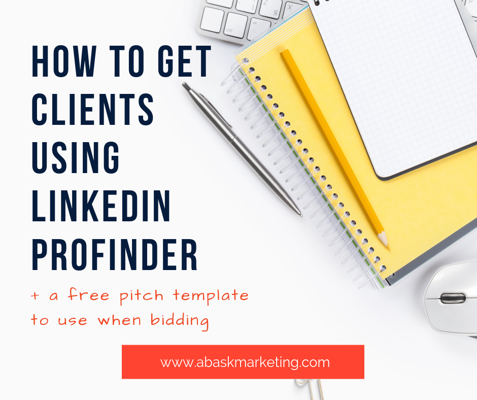 How To Get Copywriting Clients With LinkedIn ProFinder