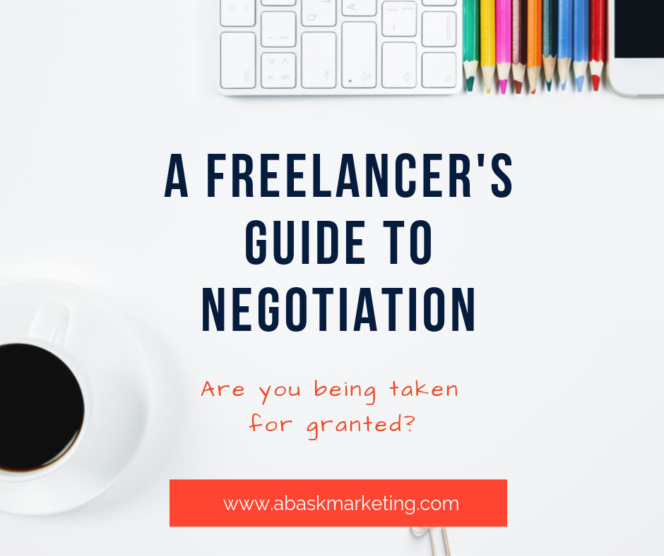 DO YOU BACK DOWN TOO EASILY? A FREELANCER'S GUIDE TO NEGOTIATION