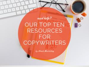 Top Ten Resources For Copywriters